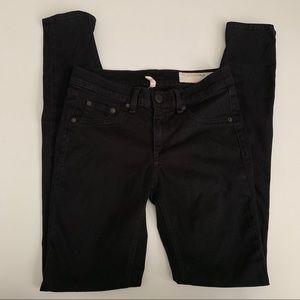 Rag and Bone Black Legging Jeans Black Plush